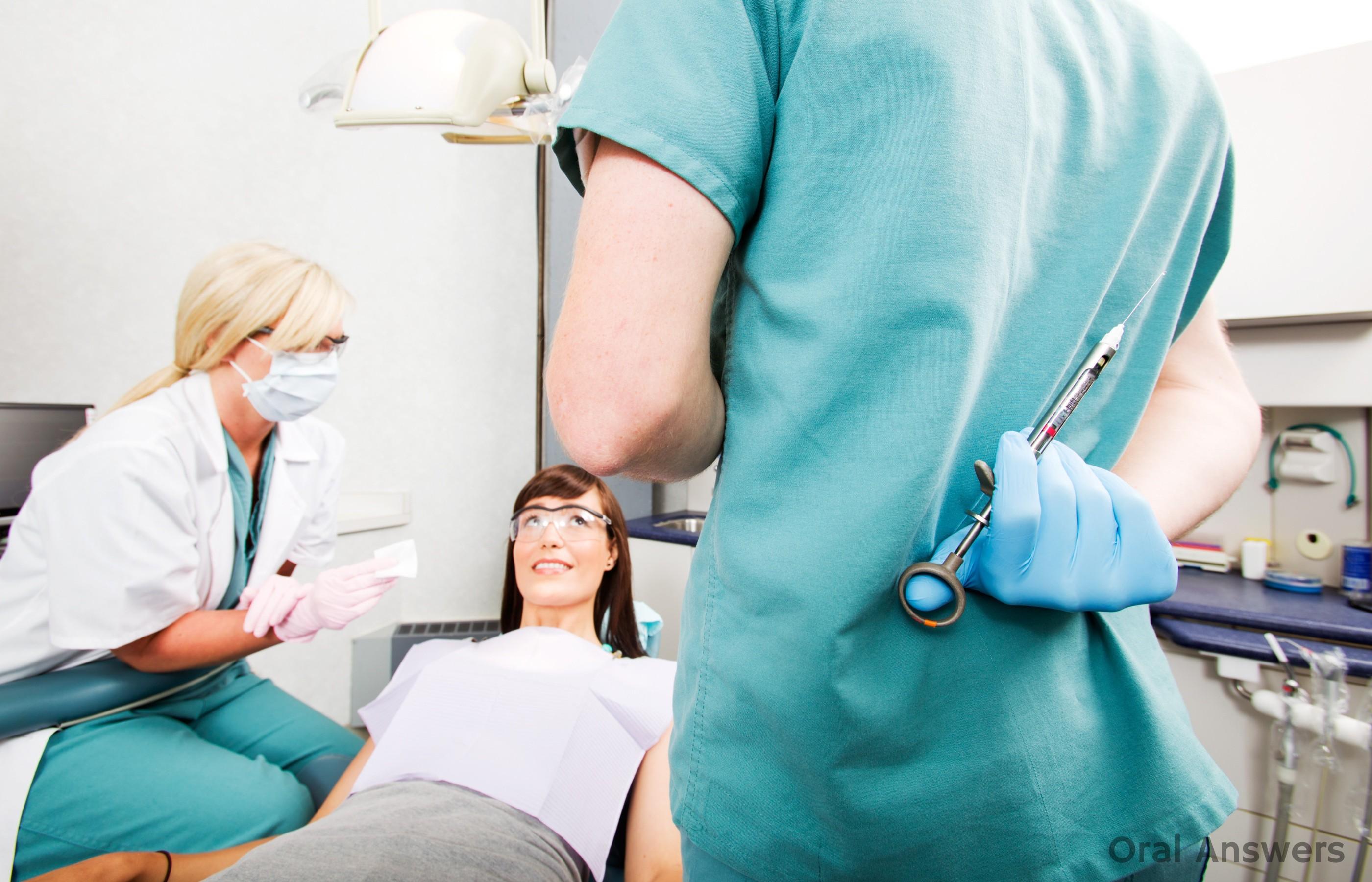 Daugiau jokių adatų pas odontologą – tik tai maža elektros srovė.